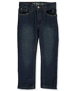 U.S. Polo Assn. Little Boys' Jeans (Sizes 4 – 7) - CookiesKids.com