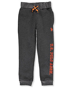 U.S. Polo Assn. Little Boys' Fleece Joggers (Sizes 4 – 7) - CookiesKids.com