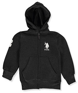 U.S. Polo Assn. Little Boys' Hoodie (Sizes 4 – 7) - CookiesKids.com