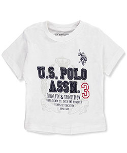 U.S. Polo Assn. Baby Boys' T-Shirt - CookiesKids.com