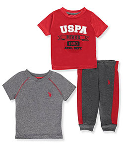 U.S. Polo Assn. Baby Boys' 3-Piece Set - CookiesKids.com