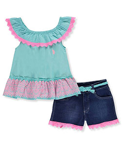 U.S. Polo Assn. Big Girls' 2-Piece Outfit (Sizes 7 – 16) - CookiesKids.com