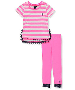 U.S. Polo Assn. Girls' 2-Piece Outfit - CookiesKids.com