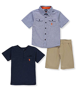 U.S. Polo Assn. Boys' 3-Piece Outfit - CookiesKids.com