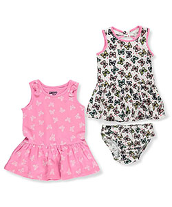 Limited Too Baby Girls' 2-Pack Dresses with Diaper Cover - CookiesKids.com