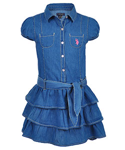 U.S. Polo Assn. Girls' Dress - CookiesKids.com