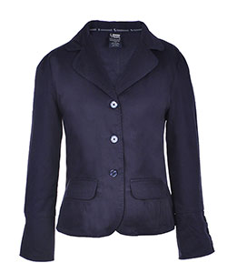 French Toast Big Girls' Cotton Twill Blazer (Sizes 7 - 16) - CookiesKids.com