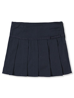 French Toast Big Girls' Grosgrain Pleated Scooter (Sizes 7 - 16) - CookiesKids.com
