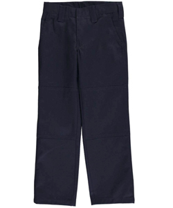 "French Toast Big Boys' ""Paneled Cell-Pocket"" Straight Fit Pants (Sizes 8 – 20) - CookiesKids.com"