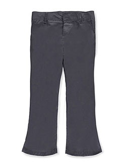 French Toast Big Girls' Plus Flat Front Flare Pants - CookiesKids.com