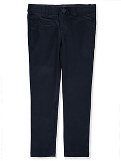 French Toast Little Girls' Stretch Twill Uniform Pants (Sizes 4 - 6X) - CookiesKids.com