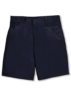 French Toast Unisex Pleated Front Twill Short with Adjustable Waist (Sizes 4 - 7) - CookiesKids.com