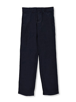 "French Toast Big Boys' ""Woolweight"" Flat Front Pants (Sizes 8 – 20) - CookiesKids.com"