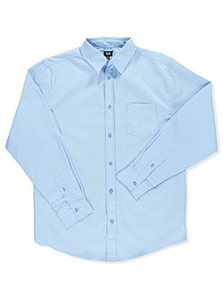 "Lee Uniforms ""Classic Fit"" L/S Button-Down Shirt (Young Men's S – XXL) - CookiesKids.com"