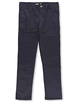 Lee Uniforms Big Girls' Junior Original Skinny Pants (Junior Sizes 0 - 17) - CookiesKids.com