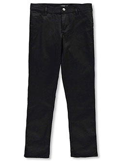 Lee Uniforms Big Girls' Junior Low-Rise Skinny Pants (Junior Sizes 0 – 17) - CookiesKids.com