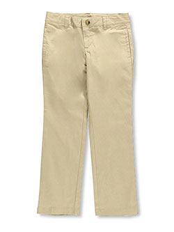 Lee Uniforms Big Girls' Original Straight Leg Pants (Sizes 7 - 16) - CookiesKids.com