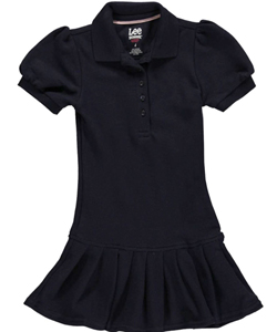 "Lee Uniforms Little Girls' ""Pleat Sweet"" Jumper (Sizes 4 - 6X) - CookiesKids.com"