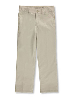 French Toast Big Boys' Pleated Wrinkle No More Slim Fit Pants (Sizes 8 – 20) - CookiesKids.com