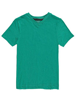 French Toast Little Boys' V-Neck T-Shirt (Sizes 4 – 7) - CookiesKids.com