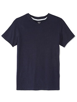 French Toast Big Boys' V-Neck T-Shirt (Sizes 8 – 20) - CookiesKids.com