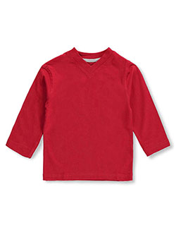 French Toast Baby Boys' L/S V-Neck Sweatshirt - CookiesKids.com