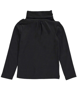 French Toast Baby Girls' L/S Ruched Turtleneck - CookiesKids.com