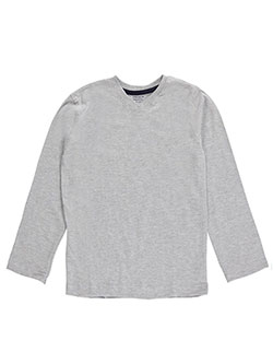 French Toast Little Boys' Toddler V-Neck L/S T-Shirt (Sizes 2T – 4T) - CookiesKids.com