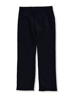 "French Toast Big Girls' ""Flared"" Fleece Sweatpants (Sizes 7 – 16) - CookiesKids.com"