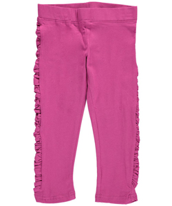 "French Toast Little Girls' ""Ruched Sides"" Leggings (Sizes 4 – 6X) - CookiesKids.com"