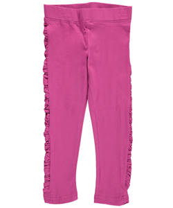 "French Toast Big Girls' ""Ruched Sides"" Leggings (Sizes 7 – 16) - CookiesKids.com"