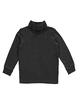 French Toast Little Boys' L/S Basic Turtleneck (Sizes 4 – 7) - CookiesKids.com