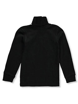 "French Toast Big Boys' ""Basic"" Turtleneck (Sizes 8 – 20) - CookiesKids.com"