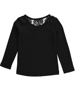 "French Toast Baby Girls' ""Lacey"" L/S Top - CookiesKids.com"