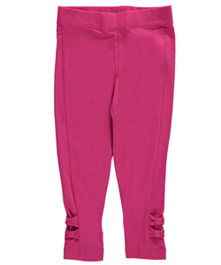 "French Toast Little Girls' Toddler ""Sweet Bow"" Leggings (Sizes 2T – 4T) - CookiesKids.com"