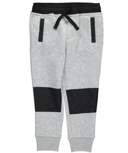 "French Toast Little Boys' ""Active Trim"" Fleece Joggers (Sizes 4 – 7) - CookiesKids.com"