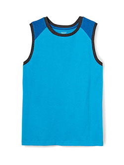 "French Toast Little Boys' Toddler ""Muscle"" Sleeveless T-Shirt (Sizes 2T – 4T) - CookiesKids.com"