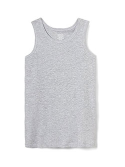 French Toast Big Boys' Ribbed Tank Top (Sizes 8 – 20) - CookiesKids.com