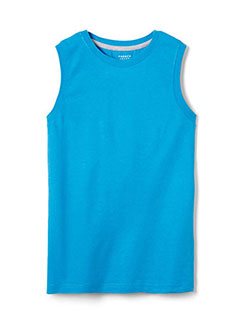 French Toast Big Boys' Sleeveless T-Shirt (Sizes 8 – 20) - CookiesKids.com