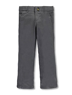 French Toast Little Girls' Twill Straight Leg Pants (Sizes 4 – 6X) - CookiesKids.com