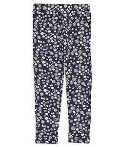 "French Toast Big Girls' ""Printed Stretch"" Leggings (Sizes 7 – 16) - CookiesKids.com"