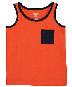 "French Toast Little Boys' ""Edgy Contrast"" Sleeveless T-Shirt (Sizes 4 – 7) - CookiesKids.com"