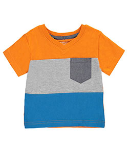 "French Toast Baby Boys' ""Multi-Contrast"" T-Shirt - CookiesKids.com"
