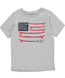 "French Toast Little Boys' Toddler ""Let's Surf!"" T-Shirt (Sizes 2T – 4T) - CookiesKids.com"