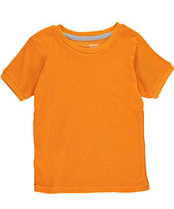 "French Toast Little Boys' Toddler ""Ribbed Stretch"" T-Shirt (Sizes 2T – 4T) - CookiesKids.com"