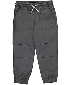 French Toast Little Boys' Poplin Jogger Pants (Sizes 4 – 7) - CookiesKids.com
