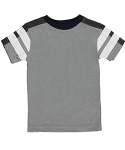 "French Toast Baby Boys' ""Stripe Sleeve"" T-Shirt - CookiesKids.com"