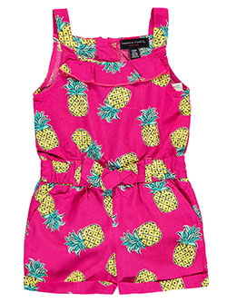 "French Toast Baby Girls' ""Tropical Style"" Romper - CookiesKids.com"