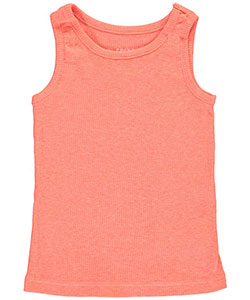 French Toast Little Girls' Ribbed Tank Top (Sizes 4 – 6X) - CookiesKids.com