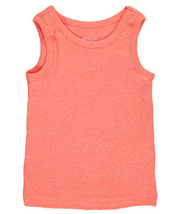 French Toast Baby Girls' Ribbed Tank Top - CookiesKids.com